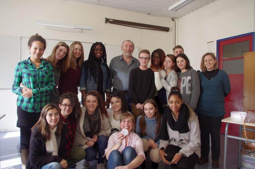 Intervention au lycée Suzanne Valadon de Limoges